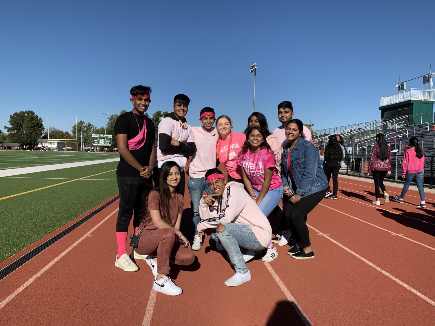 JFK Goes Pink to Save Lives