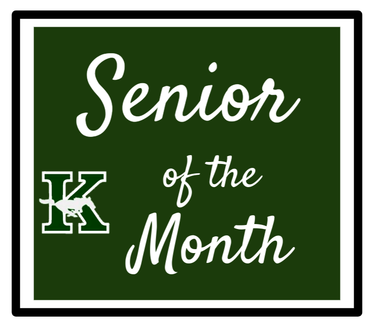 Congrats to the Senior of the Month at John F. Kennedy Memorial High School!