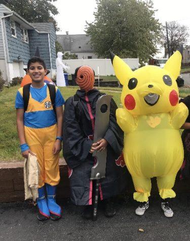 Kids trick-or-treat last year in Iselin, NJ.