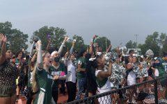 JFK Mustangs show school spirit.